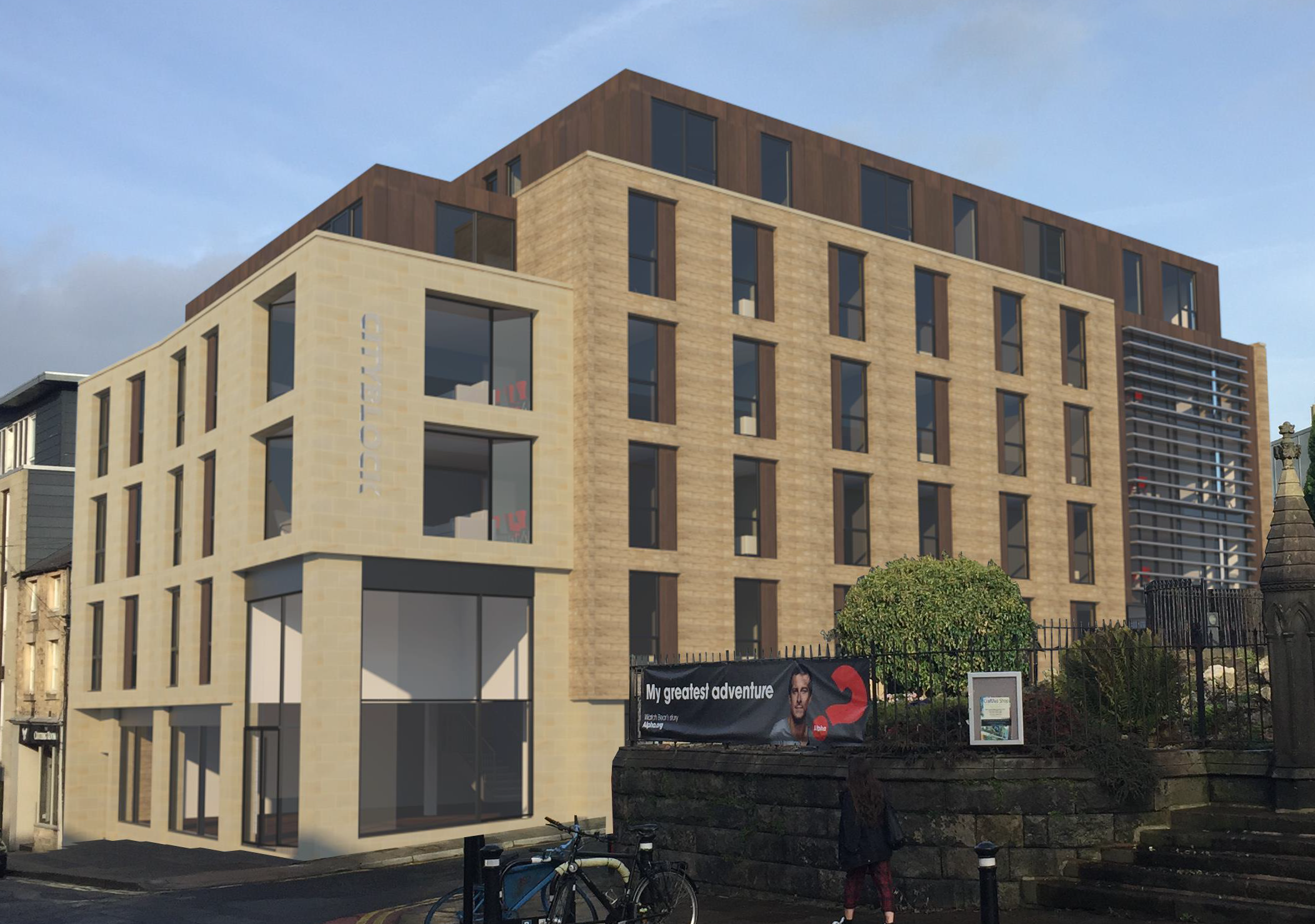 CityBlock 6 in Lancaster is completed
